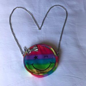 Girls Children's Place rainbow smile bag